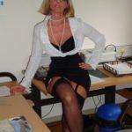 secrétaire cochonne chaude