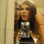 selfie coquin snap étudiante