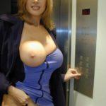 baiser une cougar dans l'ascenseur