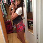 fille en mini jupe étudiante photos