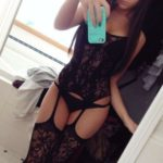lingerie fine et sexy jeune femme