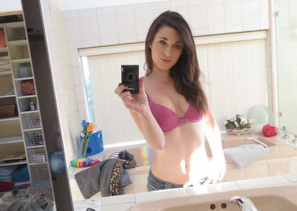 selfie snap coquin sexy sexe brune petite