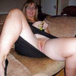 chatte poilue de femme mature rousse
