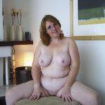 femme ronde mature nue