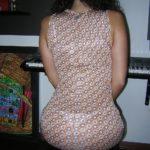 photo robe transparente