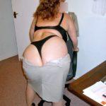 le gros cul de la secrétaire