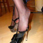 pieds féminin